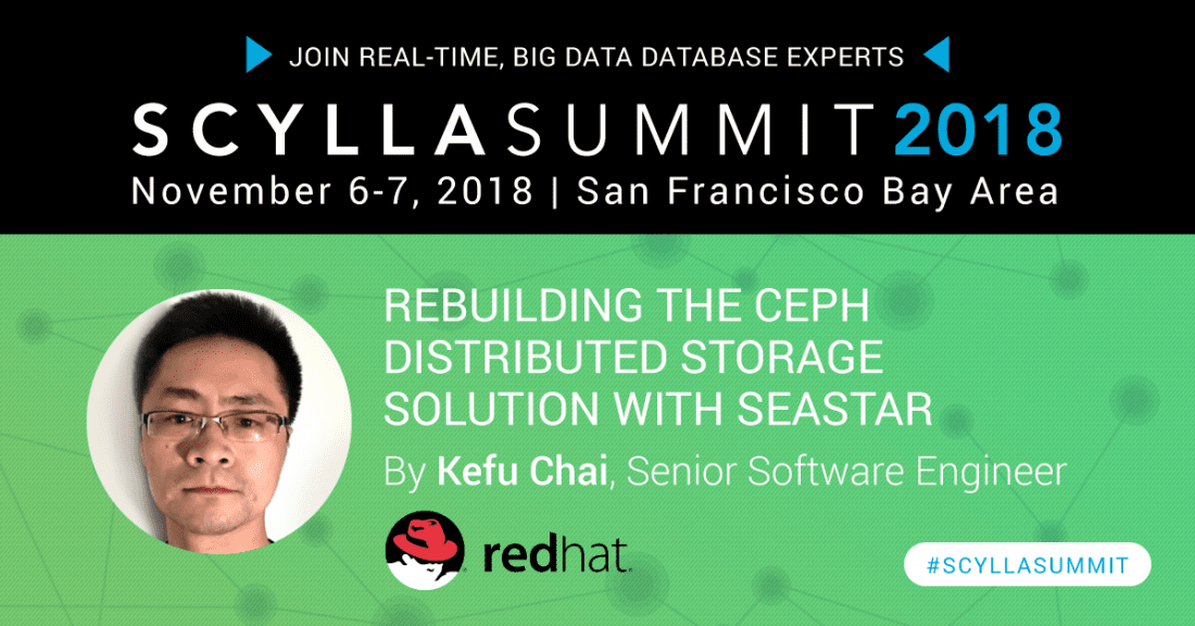 Scylla Summit Preview: Rebuilding the Ceph Distributed Storage Solution with Seastar
